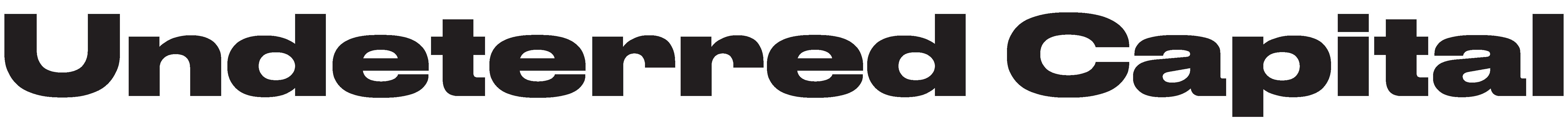 Undeterred Capital logo