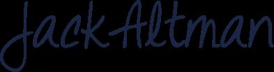 Jack Altman signature