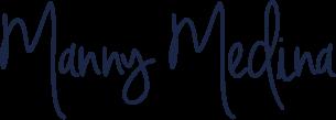 Manny Medina signature