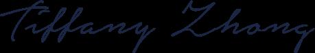 Tiffany Zhong signature