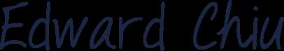 Edward Chiu signature