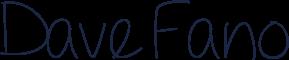 Dave Fano signature
