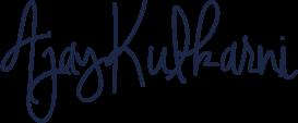 Ajay Kulkarni signature