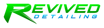 Revived Detailing logo click and go to homepage