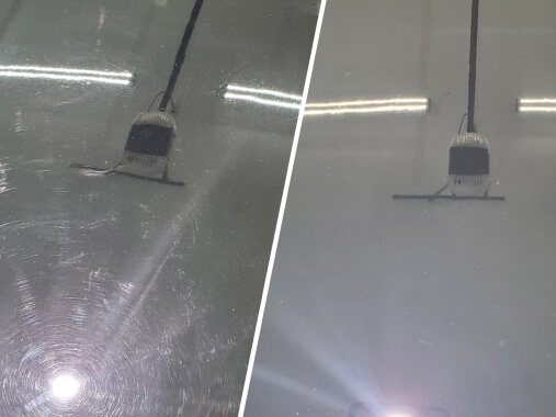 before after paint correction Revived Detailing