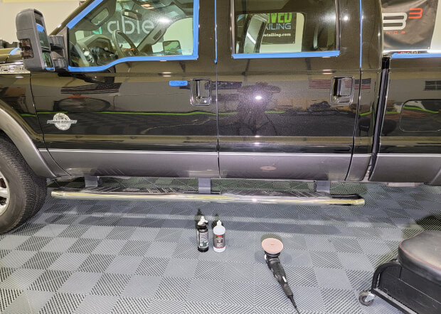 paint correction Revived Detailing