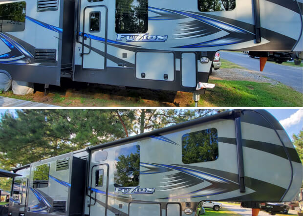sunday's best rv detailing service near me in king George VA revived detailing