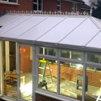 Insulated conservatory roof panels in Storrington, West Sussex