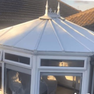 a conservatory roof repalcement in whitstable kent