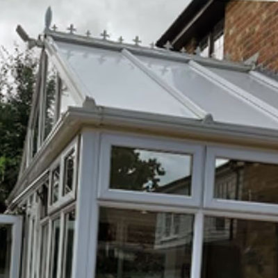 Conservatory roof panel repalcement in Basildon, Essex