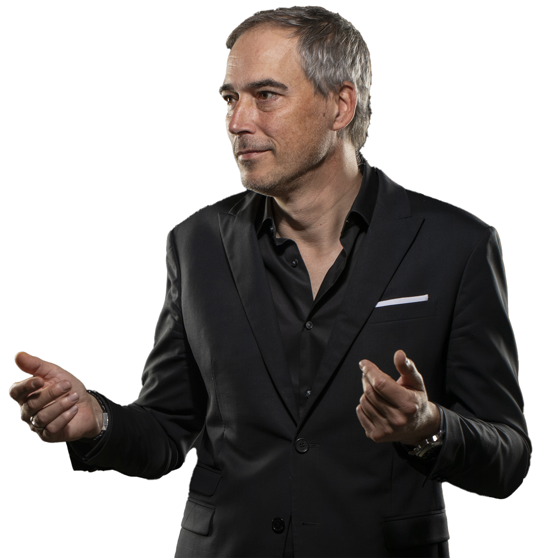 Der Trainer für Präsentationen Claudius Bähr
