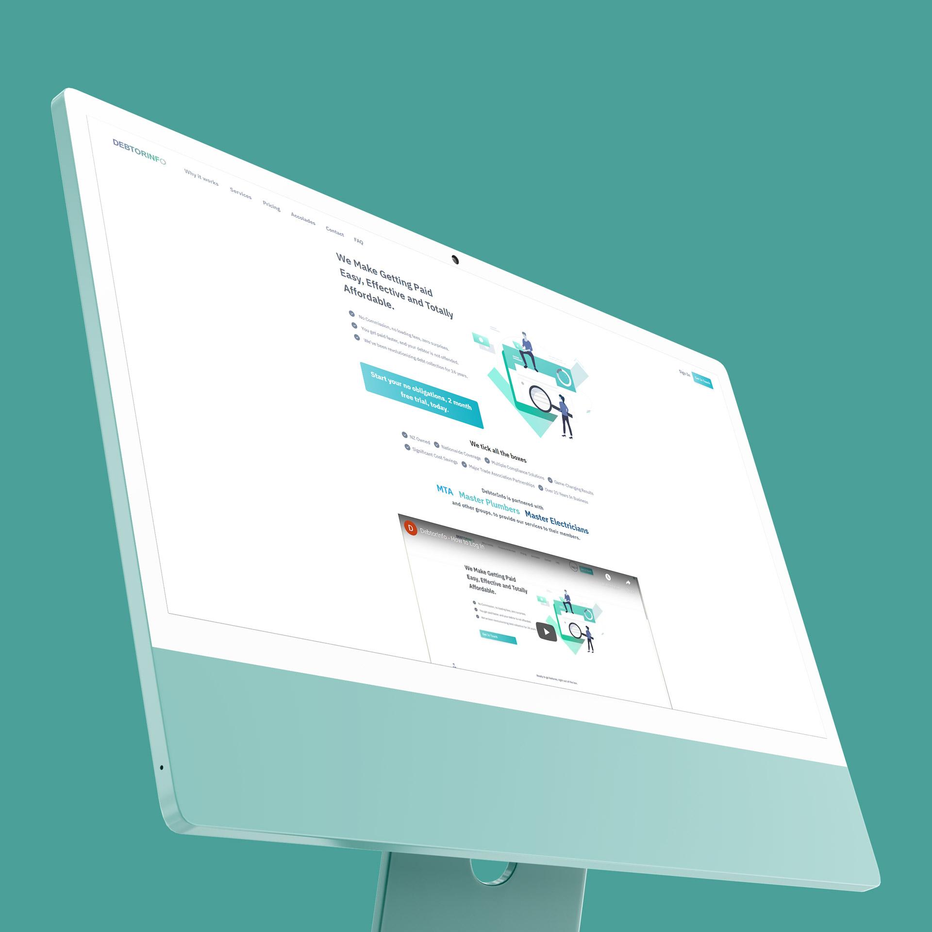 DebtorInfo software example