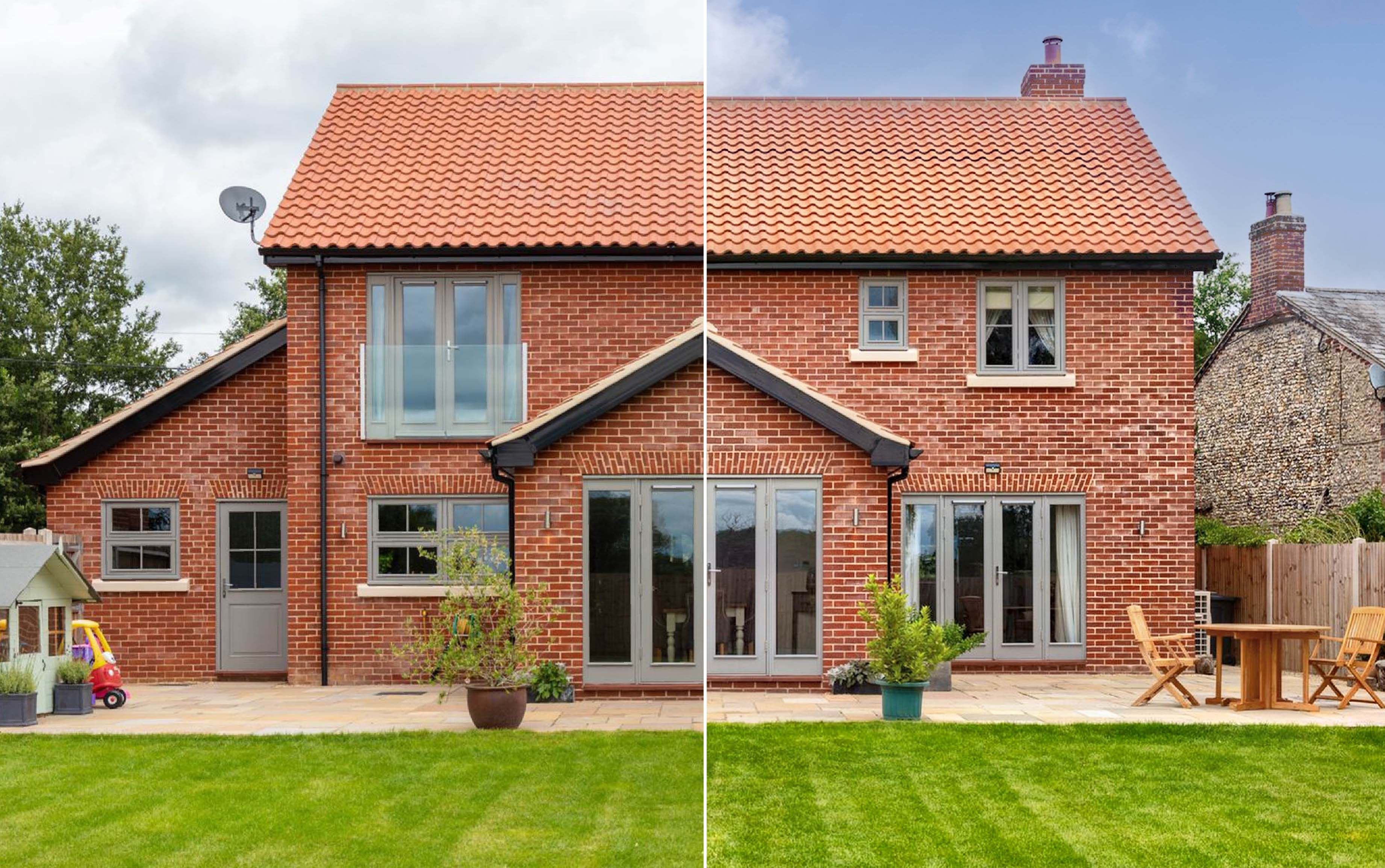How to correct perspective in a real estate image with photo editing software