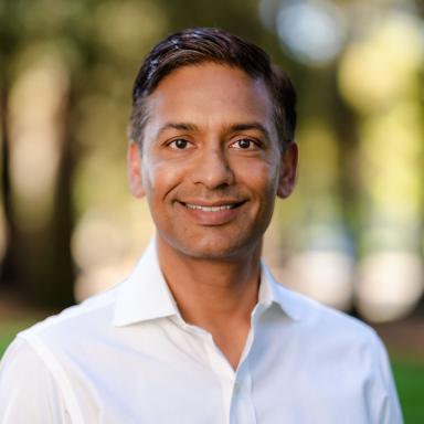 A headshot of Lalit Singh