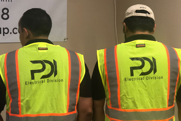 Member of the electrical division on PDI in San Antonio.