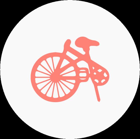 Folding Bike Icon