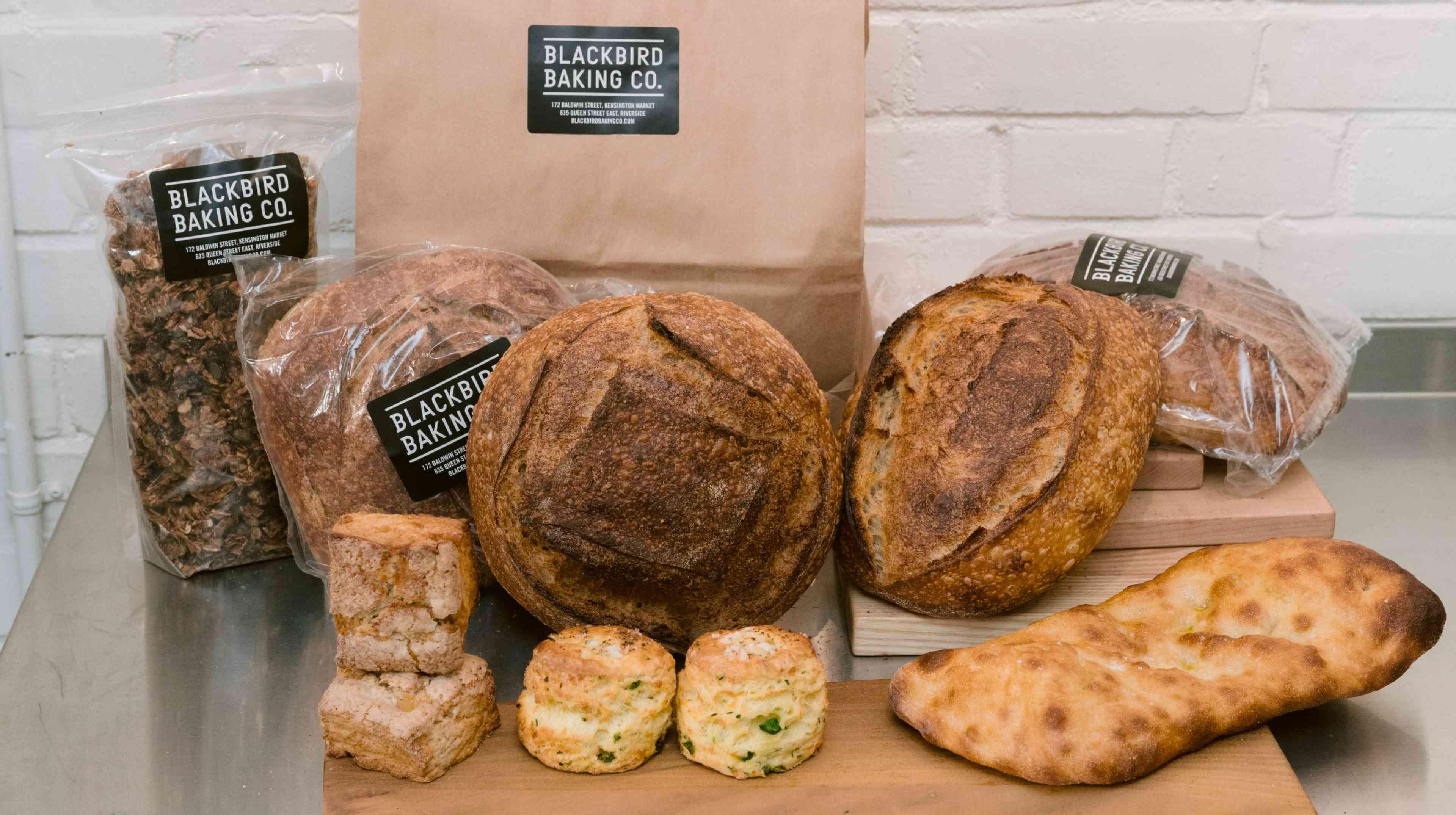 Delicious looking bread