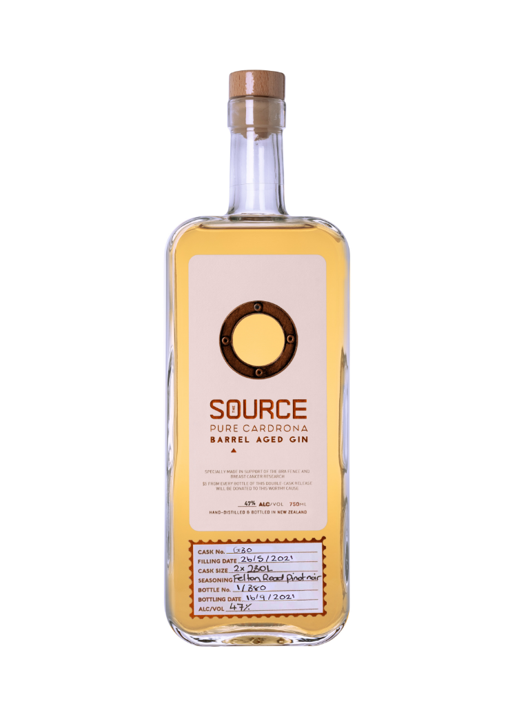 The Source Pinot Noir Barrel Aged Gin
