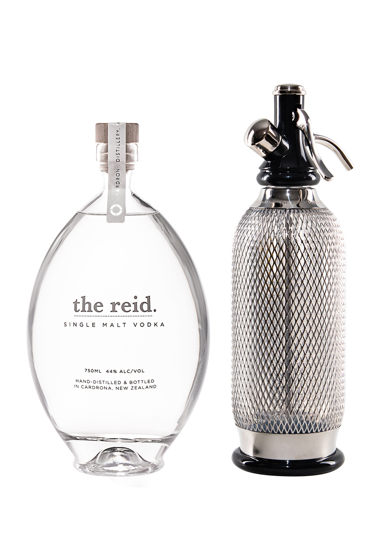 the reid with Soda Maker Set