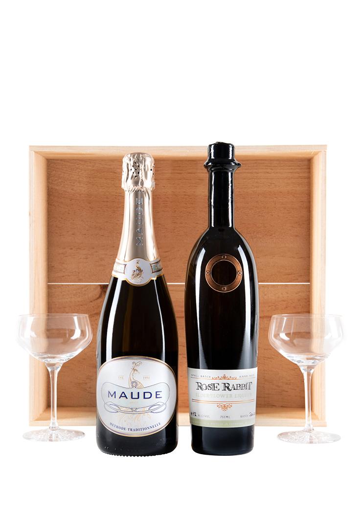Rose Rabbit Elderflower & Maude Sparkling Wine