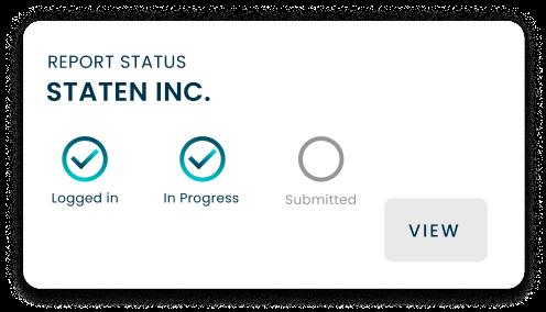Report status widget