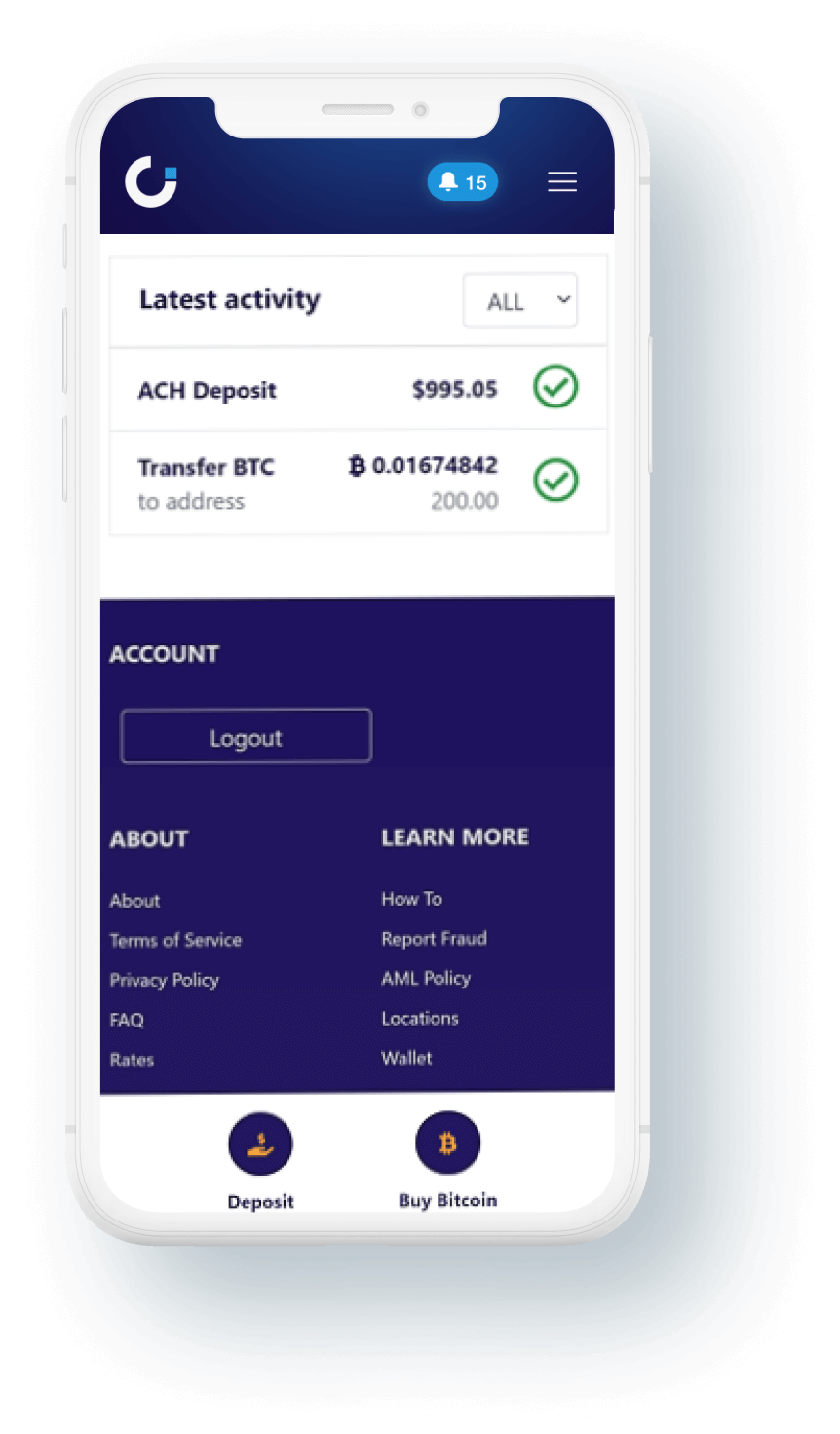 cryptodispensers-mobile-activity
