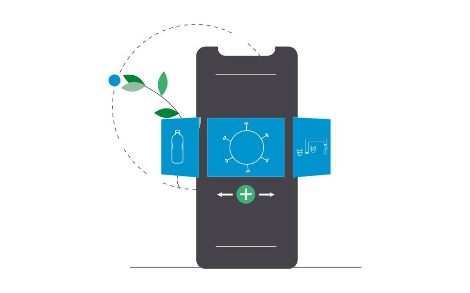 Healthcare app image