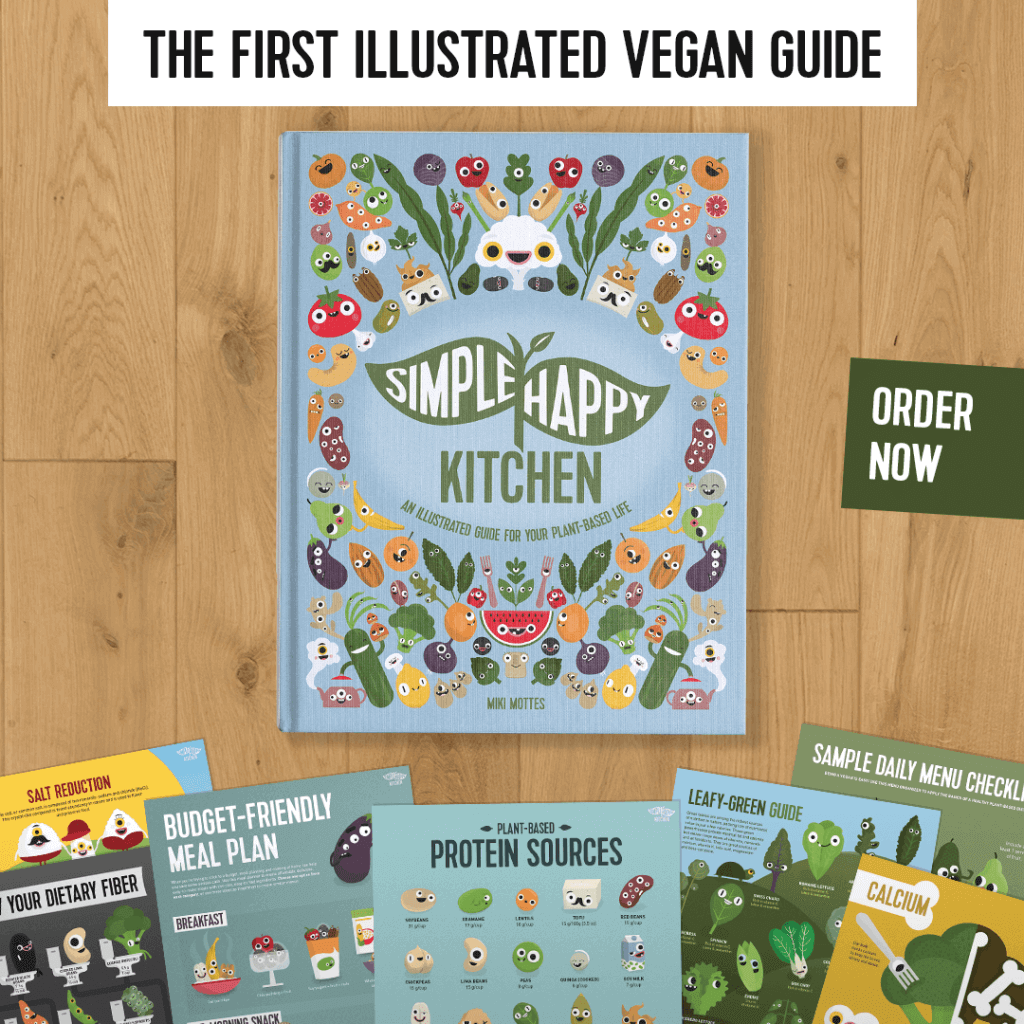 The Simple Happy Kitchen vegan guide