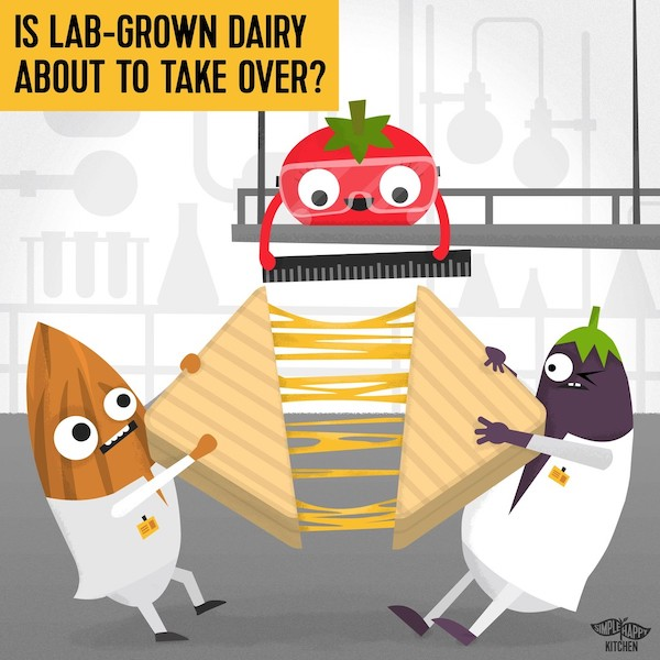 Is lab-grown dairy about to take over?