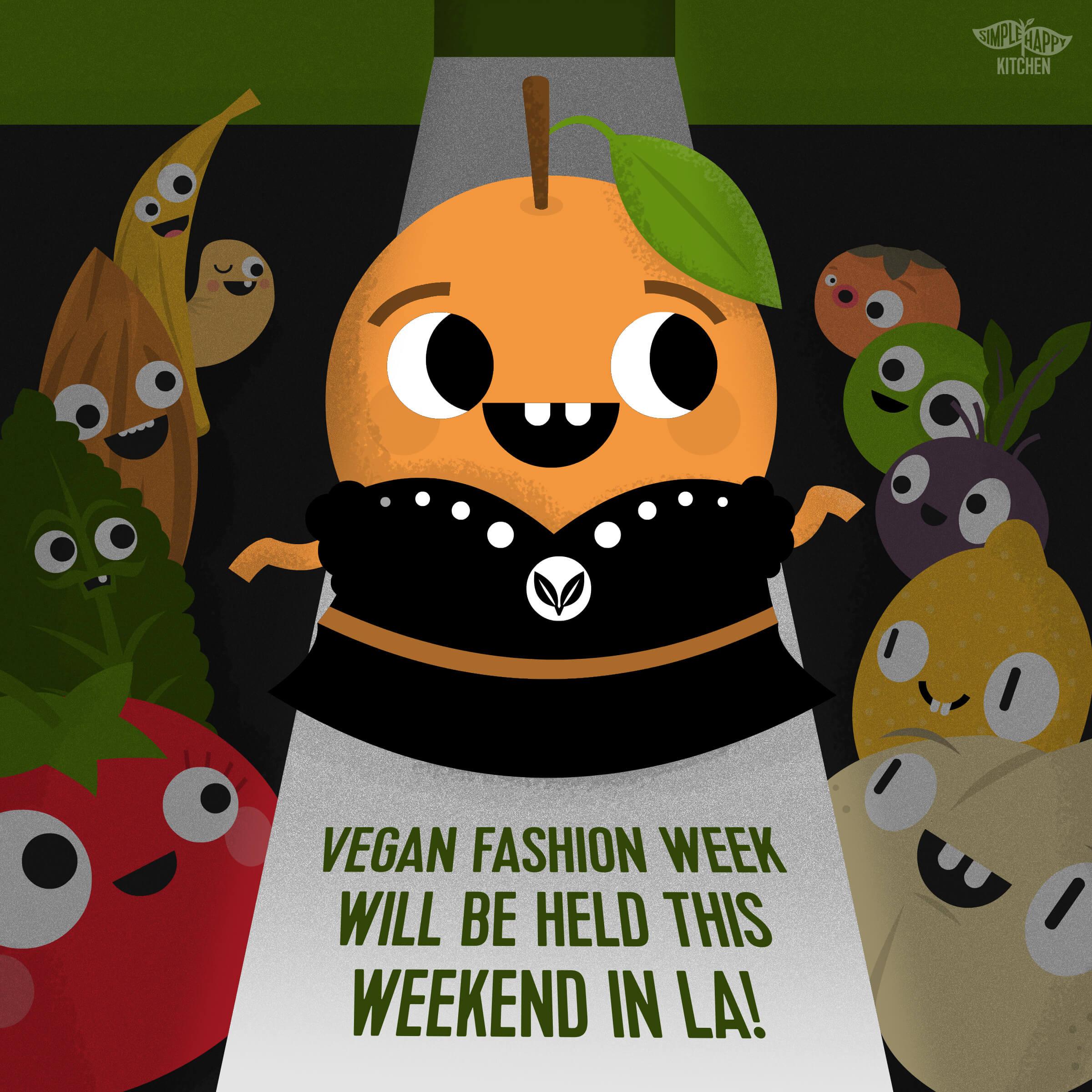 Vegan fashion week will be held this weekend in LA!