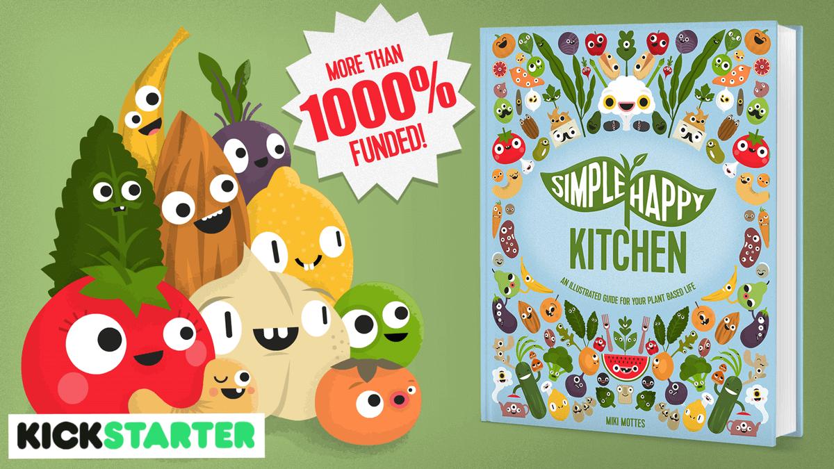 Kickstarter campaign of Simple Happy Kitchen