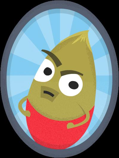 Pumpkin seed portrait as a vegan superfood