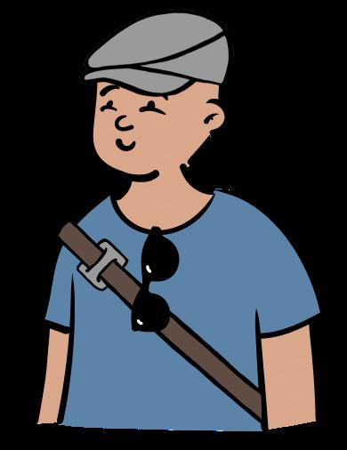 Illustration of Stuart Kime, CTO of hOp