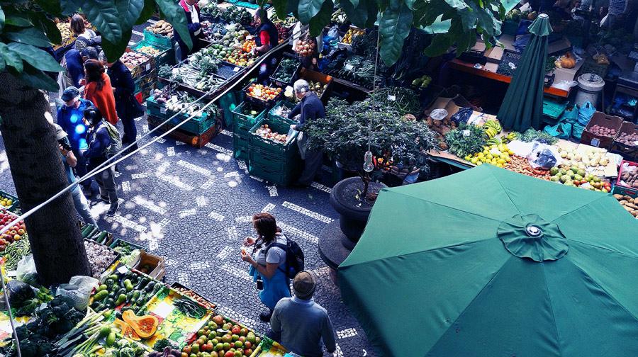 A neighborhood marketplace