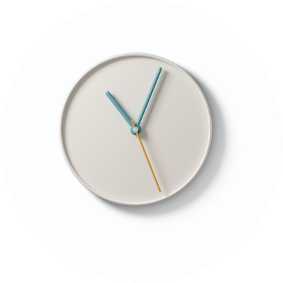 clock icon in 3D