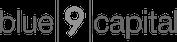blue 9 capital logo bw
