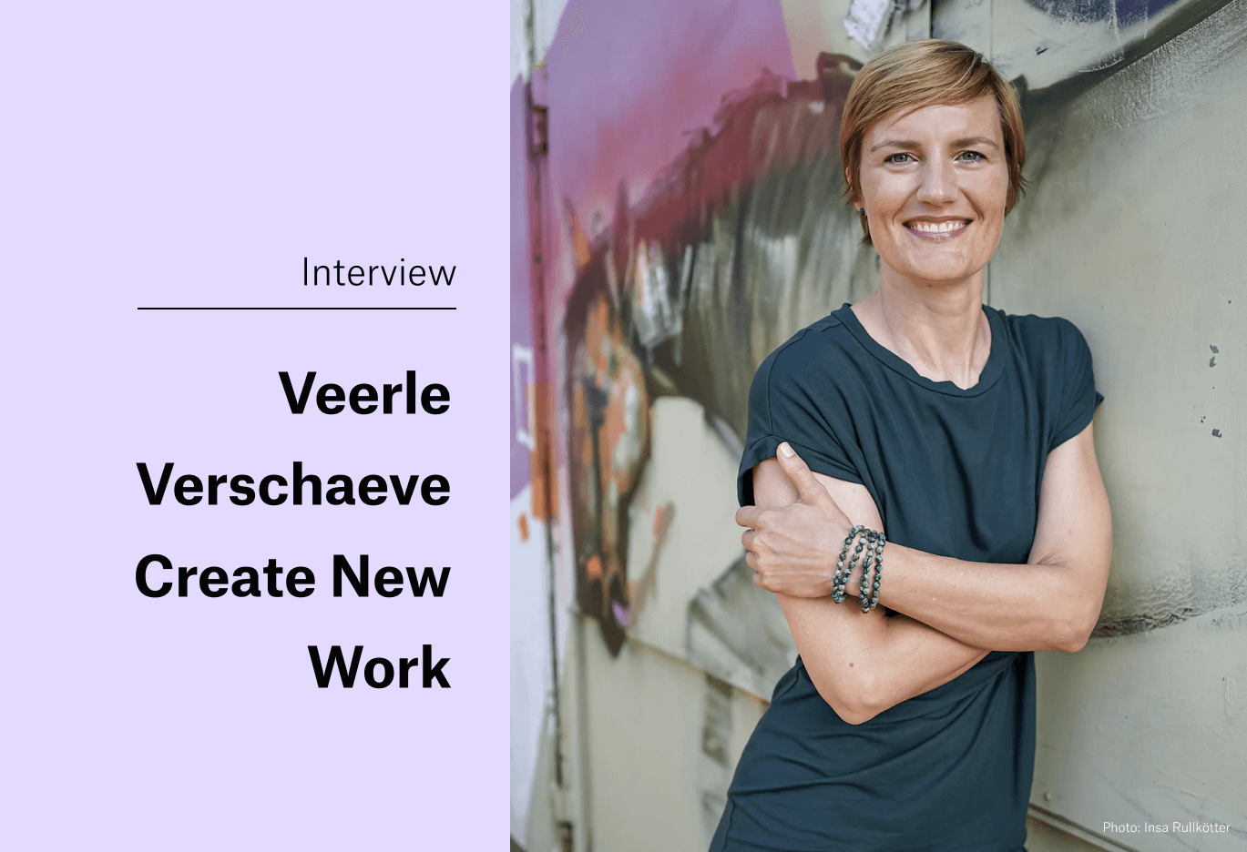 How to Design the Office so That Everyone Comes by Choice - Interview with New Work Expert Veerle Verschaeve