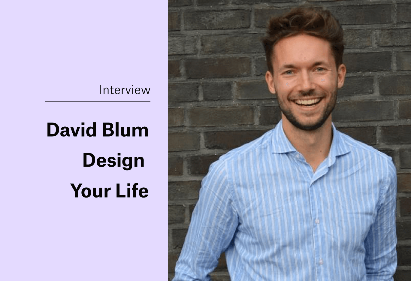 On the Search for Purpose with David Blum