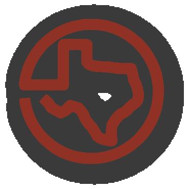 Go Texan Circle Logo