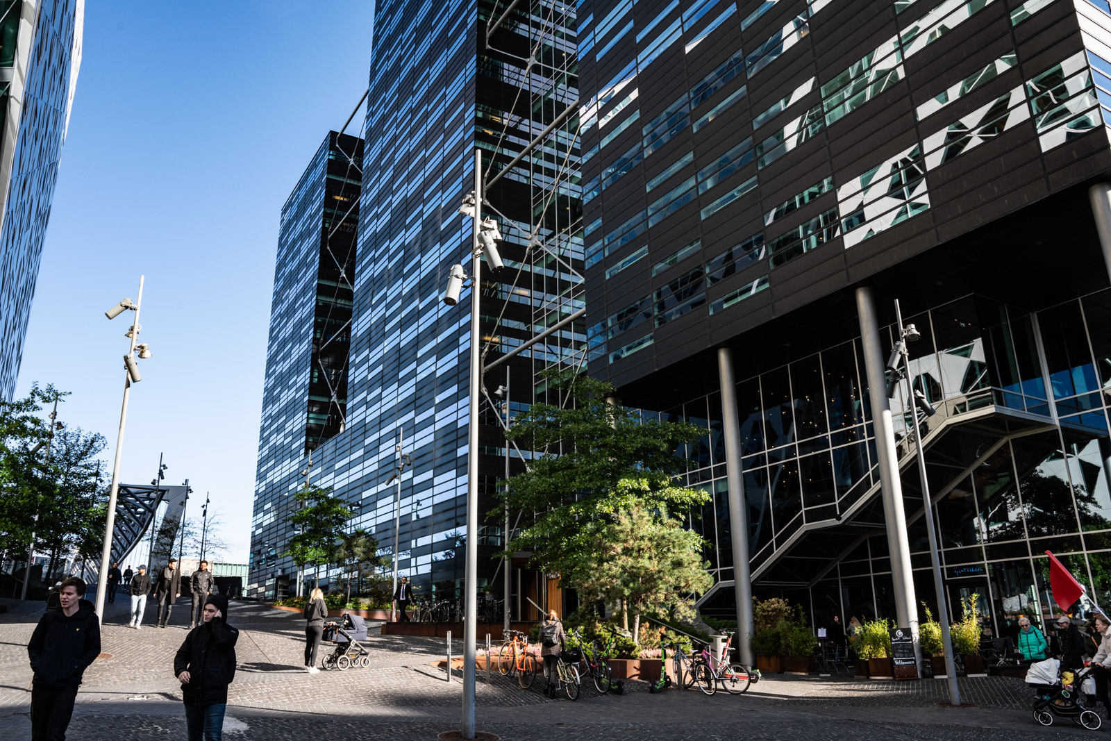Exterior image of the offices in barcode area Oslo